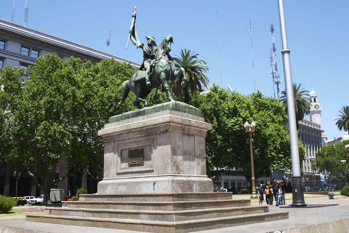 Manuel Belgrano en la ciudad de Buenos Aires