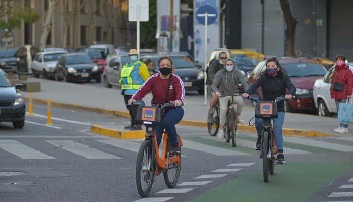 Los ciclistas porteños