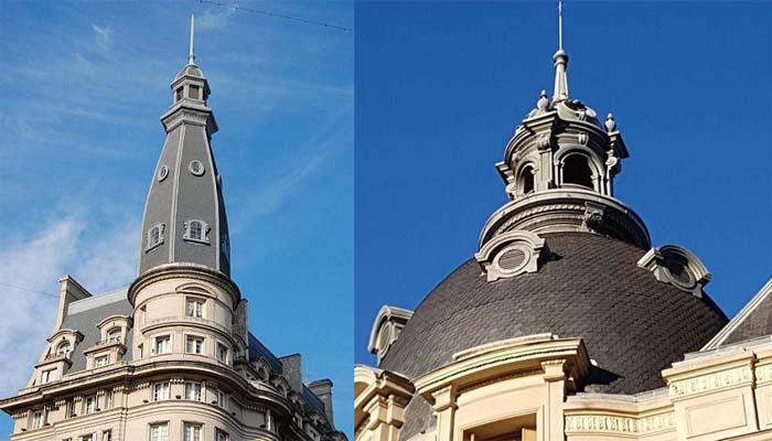 Las cúpulas de Buenos Aires