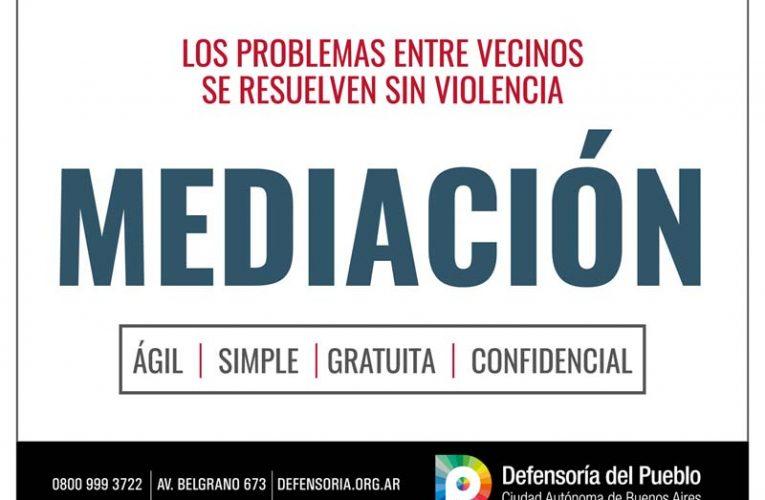 Mediación: Dialogar para resolver