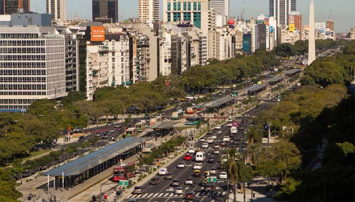 ¿La avenida más ancha del mundo?