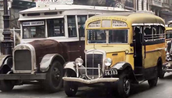 El transporte público porteño