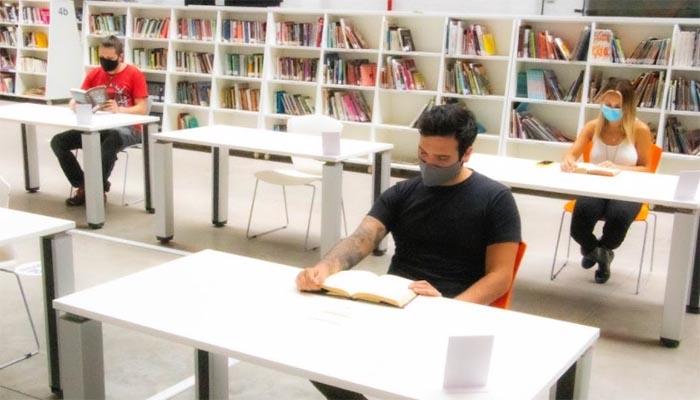 Salas de estudio y lectura de la Red de Bibliotecas Públicas