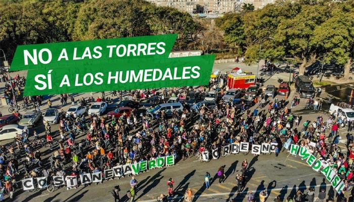 Demostración Ciudadana en Defensa de la Costanera Sur