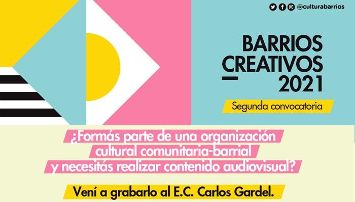 Nueva convocatoria de Barrios Creativos