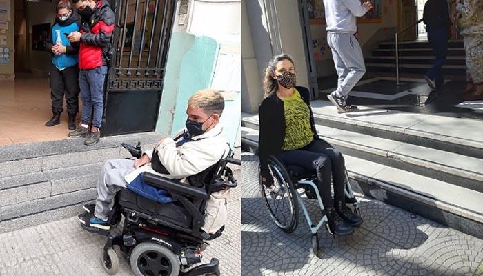 Elecciones: Falta de accesibilidad en las escuelas