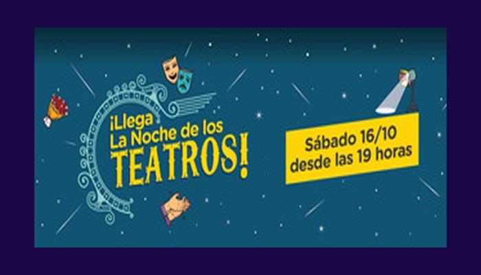 """Se viene """"La Noche de los Teatros"""""""