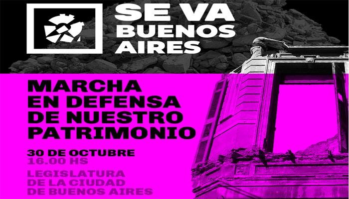 Invitación a movilizarse por Buenos Aires